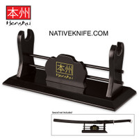 Honshu Single Sword Wooden Display Stand UC3194