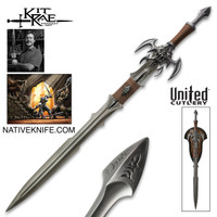 Kit Rae Exotath: Dark Edition Fantasy Sword  KR0075