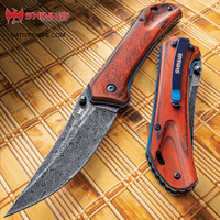 Shinwa Nanashi Bloodwood Assisted Opening Pocket Knife KZ1025