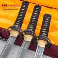 Shinwa Pearl Maroon Samurai Sword Set KZ126MCSET
