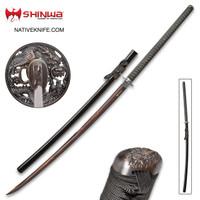Shinwa Colossus Yoru Handmade Odachi Giant Samurai Katana Sword KZ095BDZ