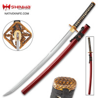 Shinwa Blood Dragon Katana Sword And Scabbard KZ1024