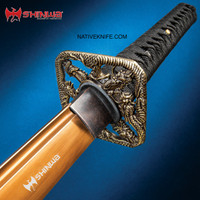 Shinwa Fighting Dragon Katana Samurai Sword And SheathKZ1030