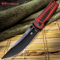 Shinwa Red Tsuka Pocket Knife KZ1026