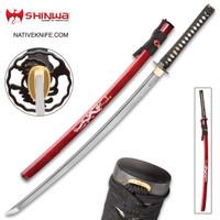 Shinwa Imperial Dragon Handmade Katana Samurai Sword KZ126MDZ