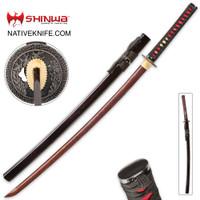 Shinwa Incendiary Handmade Katana Samurai Sword KZ1007DZ