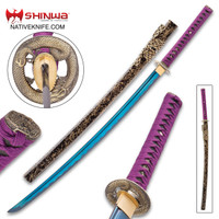 Shinwa Noble Midnight Samurai Katana Sword KZ1011