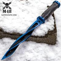 M48 Cyclone Special Limited Edition Knife Tsunami Force Blue UC3163BLA