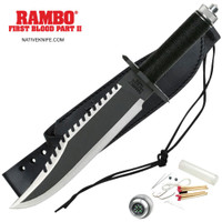 Rambo II First Blood Fixed Blade Knife MCRB2