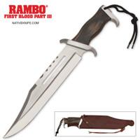 Rambo III Stallone Signature Edition Knife MCRB3SS