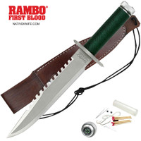 Licensed Rambo I First Blood Fixed Blade Knife MCRB1