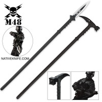 M48 Tactical Survival Hammer & Hunting Spear with Sheath Combo BKCK102