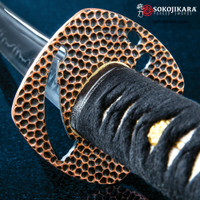 Sokojikara Night Thief Hand-Forged Katana Sword T10 High Carbon Steel Clay Tempered