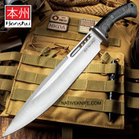 Honshu Boshin Toothpick Knife With Sheath UC3394