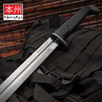 Honshu Boshin Damascus Double Edge Sword With Scabbard UC3245ND