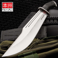 Honshu D2 Conqueror Bowie Knife And Sheath UC3321D2