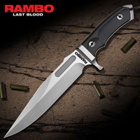 Rambo Last Blood Bowie Knife With Sheath