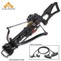 Avalanche Anaconda Recurve Black Crossbow 175-LB DRAW 245 FPS