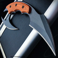 Dual Blade Karambit Knife With Sheath