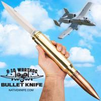 A-10 Warthog Bullet Pocket Knife