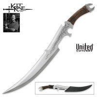 Kit Rae Mithrokil Short Sword, Satin with Sheath