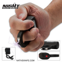 Night Watchman Knuckle Stun Gun 500,000 Volt