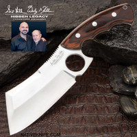 Hibben Legacy Bloodwood Cleaver Knife And Sheath GH5085
