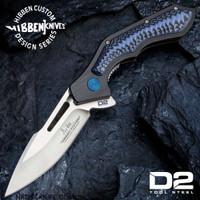Hibben Hurricane D2 Pocket Knife D2 Tool Steel Blade GH5081D2