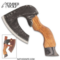 Timber Wolf Rough Beard Axe With Sheath TW1097