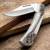 Timber Wolf Gentleman's Pearl Pocket Knife TW1162