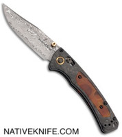 Benchmade Gold Class Mini Crooked River AXIS Lock Knife 15085-201