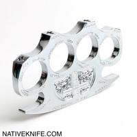 Constantine Holy Spiritus Constantine Brass Knuckle Paper Weight Silver