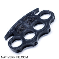 Constantine Holy Spiritus Constantine Brass Knuckle Paper Weight Black