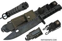 Native Camo M9 Military Bayonet