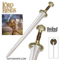 LOTR The Sword of Eowyn with Display UC1423
