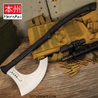 Honshu Karito Battle Axe With Sheath UC3401