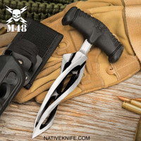 M48 Cyclone Push Dagger And Sheath UC3427