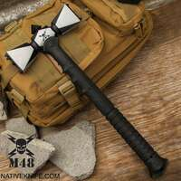 M48 Double-Headed War Hammer With Sheath UC3428