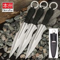 Honshu Kunai Set With Sheath  UC3453