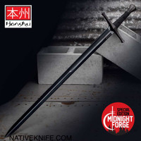Honshu Midnight Forge Broadsword And Scabbard UC3265B