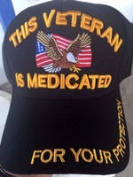 Military Veteran Cap Medicated