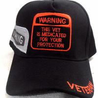 Military Veteran Hat Medicated