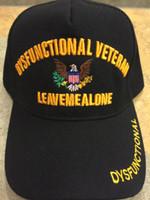 Military Veteran Cap Disfunctional Veteran