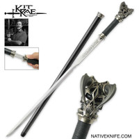 Kit Rae Vorthelok Forged Sword Cane KR0071