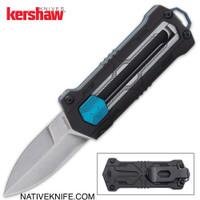 Kershaw Jens Anso Kapsule Manual Sliding Button Lock OTF Knife 1190