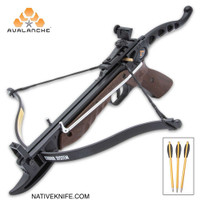 Avalanche Cobra Crossbow Pistol With Wooden Grip