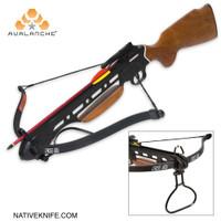 Avalanche® Trail Blazer Crossbow Wooden Stock 150-lb