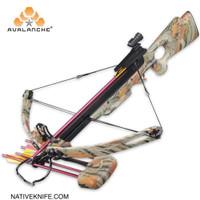 Avalanche Crossbow 150lbs Compound Autumn Camo