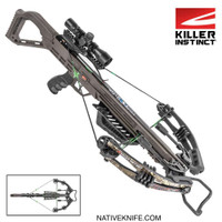 Killer Instinct Lethal 405 Crossbow With Scope