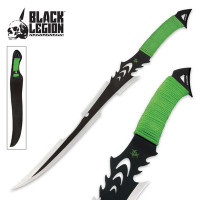 Black Legion Green Death Stalker Sword